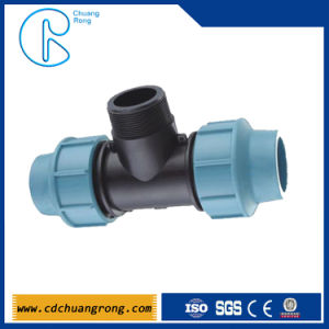 Blue Color Tube PP Tee Fitting for Irrigation pictures & photos