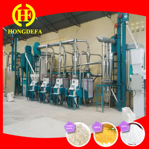 Complete Set Corn Flour Milling Machine pictures & photos