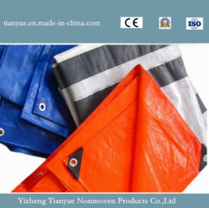 PVC Striped Tarpaulin pictures & photos