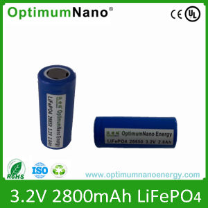 Rechargeable 32650 LiFePO4 Lithium Ion Battery pictures & photos