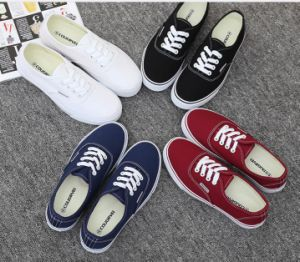 Classic Women′s Injection Canvas Shoes Leisure Comfort Shoes (HH909) pictures & photos