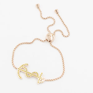Boat Anchor Charm Bracelet with CNC Stones Fashion Jewelry pictures & photos