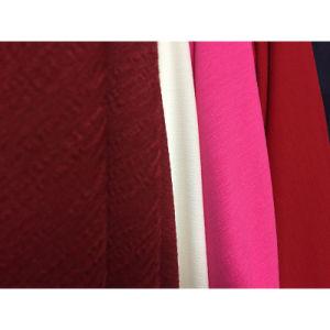 Shiny Woven Textile Nylon Rayon Viscose Bark Crinkle Crepe Fabric