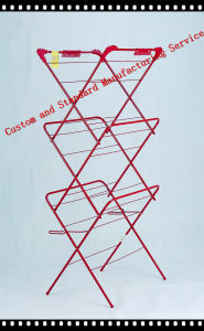 3 Tier Airer with Sock Dryer Whit Any Colour Clothes Rack pictures & photos