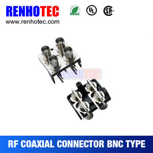 2X2 Type BNC to RCA Jack Connector RF Coaxial Connector pictures & photos