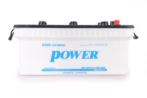 N200 200ah Dry Charged Battery for Starting & UPS pictures & photos
