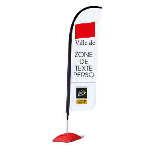 7 Metres Outdoor Advertising Polyester Flag/ Teardrop Banner (Model No.: ZS-004) pictures & photos
