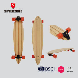 Speedzone Skateboard, Fish Tail Professional Longboard pictures & photos