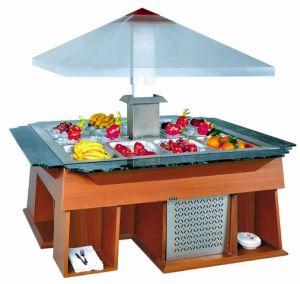 Cheering Salad Bar Restaurant Salad Bar Cooler Buffet Bar Refrigerator pictures & photos