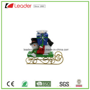 Christmas Decorative Polyresin Santa Statue with a Tree for Home Decoration pictures & photos