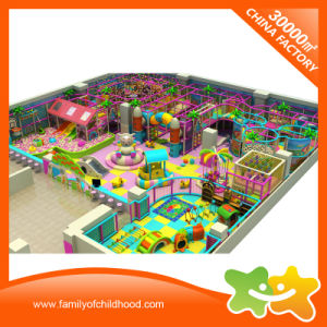Colorful Cartoons Theme Children Commercial Indoor Playground Equipment for Sale pictures & photos