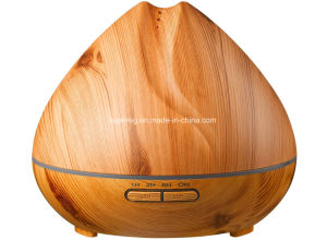 Black Wood Grain 400ml Ultrasonic Cool Mist Humidifier pictures & photos