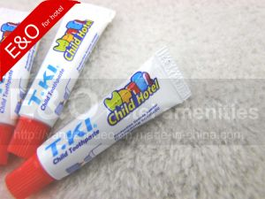 Hotel Amenities 5g Small Child Toothpaste pictures & photos