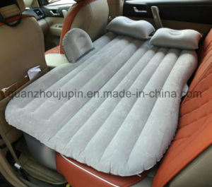 Custom PVC Travel Flocking Inflatable Car Bed Mattress pictures & photos