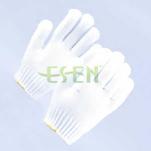 2017 Hot Sale Protective Safety Cotton Glove in Construction Areas pictures & photos