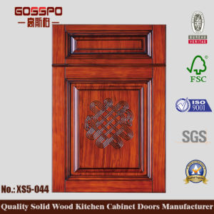 2017 Modern Mahogany Kitchen Cabinet Door (GSP5-027) pictures & photos