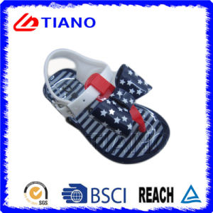Casual Style with Bowknot Outdoor Girls Sandals (TNK35815) pictures & photos