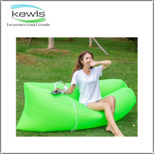 Promotional Gift Waterproof Sofa Light Blue Sleeping Lazy Air Bag pictures & photos