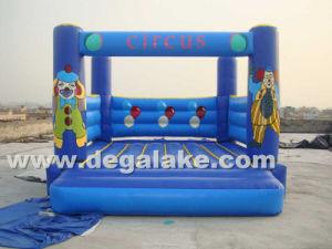 Inflatable Cirus Mini Bouncy Castle for Wholesale pictures & photos