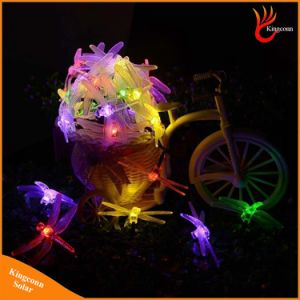 Solar Christmas Lights 30 LED Solar Dragonfly Fairy String Lights pictures & photos