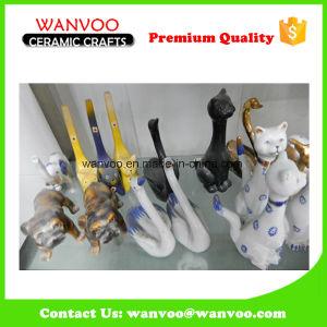 Decorative Handmade Ceramic Animal Statuette pictures & photos