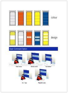 Industrial High Speed Fast Acting PVC Door (Hz-HS0263) pictures & photos