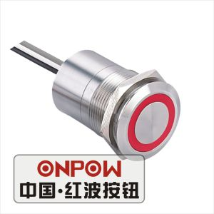 Onpow 22mm Touch Switch with Large Light (TS22D-10/RG/5V/S, CE, RoHS) pictures & photos