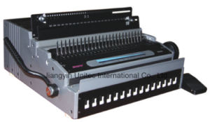 Hot Sale Popular Design Electric Comb and Wire Book Binding Machine HP-8808 pictures & photos