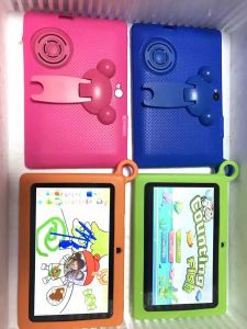 "7"" Kids Tablet PC 512MB 4200mAh Android OS Green Color pictures & photos"