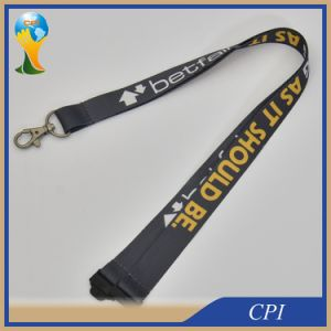 Custom Polyester Lanyard with Both Sides Printing Logo pictures & photos
