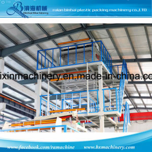Double Layer Express Bag Film Blowing Machine Auto Slitter Rewinder pictures & photos