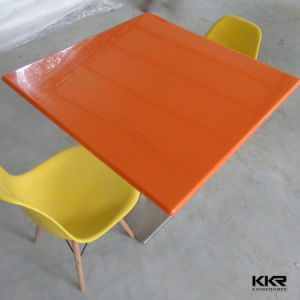 Customized Round Fast Food Restaurant Dining Table pictures & photos