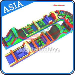 U Shape Obstacle Course Inflatable, Mega Inflatable Obstacle Run pictures & photos