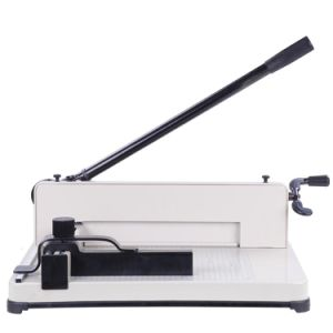 Guillotine Paper Cutter Manual Paper Cutting Machine Wd-858A4 pictures & photos
