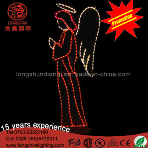 LED Outdoor Decoration Angel Motif Decorative Light for Christmas pictures & photos