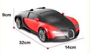 R/C Deformation Red Bugatti (License) Car Toy pictures & photos