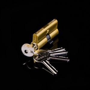 60mm  Aluminum Shell Zinc Core Door Lock Cylinder pictures & photos