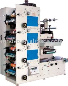 Zx-320 Flexible Graphic Printing Machine Flexible Printing pictures & photos
