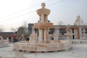 Marble Fountain Statue Fountain Stone Fountain Garden Fountain Mf-021 pictures & photos