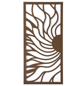 Exterior Design Aluminum Partition Wall Laser Cut Architectural Screen