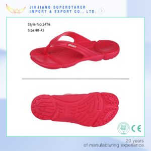 Cheap and Durable Flip Flops with Men Size Made in China Good Quality pictures & photos