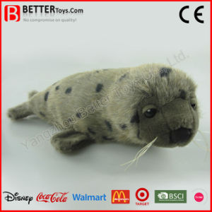 Realistic Stuffed Animal Plush Seal Toy Harp Seal pictures & photos