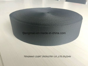 "450d 2"" Black Polypropylene Webbing for Bags pictures & photos"