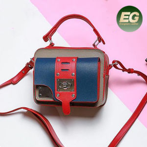 2017 New Design Handbag Contrast Color Lady Shouder Bags OEM Factory in China Sy8455 pictures & photos