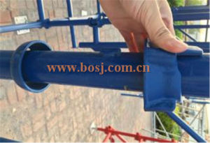 Certified Access and Shoring Cuplock Scaffolding Standing Tube Welding Machine pictures & photos