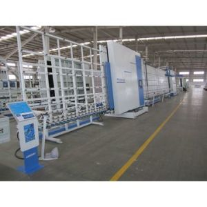 Vertical Double Glazing Machine with Washing and Drying pictures & photos