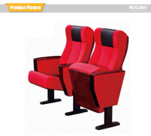 Comfortable Auditorium Chair with Metal Leg (RX-316) pictures & photos