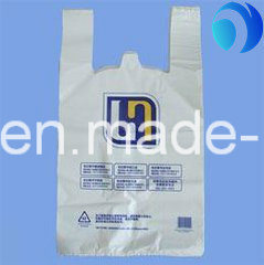 HDPE Plastic T Shirt Bag for Shopping in Supermarket pictures & photos