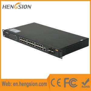 Managed 20 Gigabit Tx 4 Combo Port Ethernet Network Switch pictures & photos