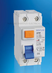 Sontune Stid-40A Series RCCB 2p 4p RCCB/Residual Current Circuit Breaker pictures & photos